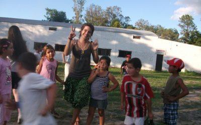 Sharon, volontaire en Argentine