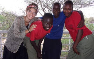 Clotilde, volontaire en Ouganda