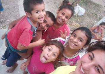 Guillemette, volontaire en Argentine