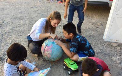 Ines, volontaire au Mexique