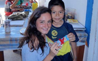 Alix, volontaire au Mexique