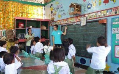 Jeanne-Laure, volontaire aux Philippines