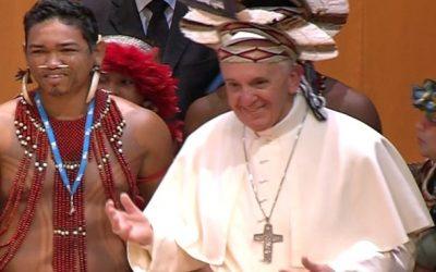 """Pape François, volontaire """"Laudato Si"""""""